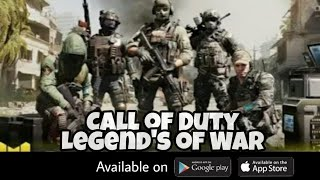 Call Of Duty :Legend's of war trailer + Download link Android/ios