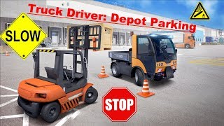 Truck Driver: Depot Parking - App Check - Android / iPhone / iPad iOS Game - Play With Games Ltd