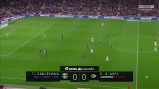 Barcelona Vs Alaves    2-1   All Highlights 2018   Last Match   