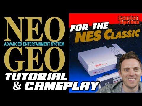 Neo Geo on Nintendo's NES Classic:  Setup Tutorial & Gameplay