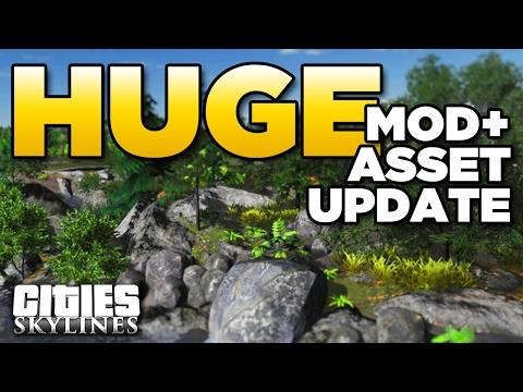 HUGE Mod + Asset Update | Cities Skylines - Aurora [n/a]