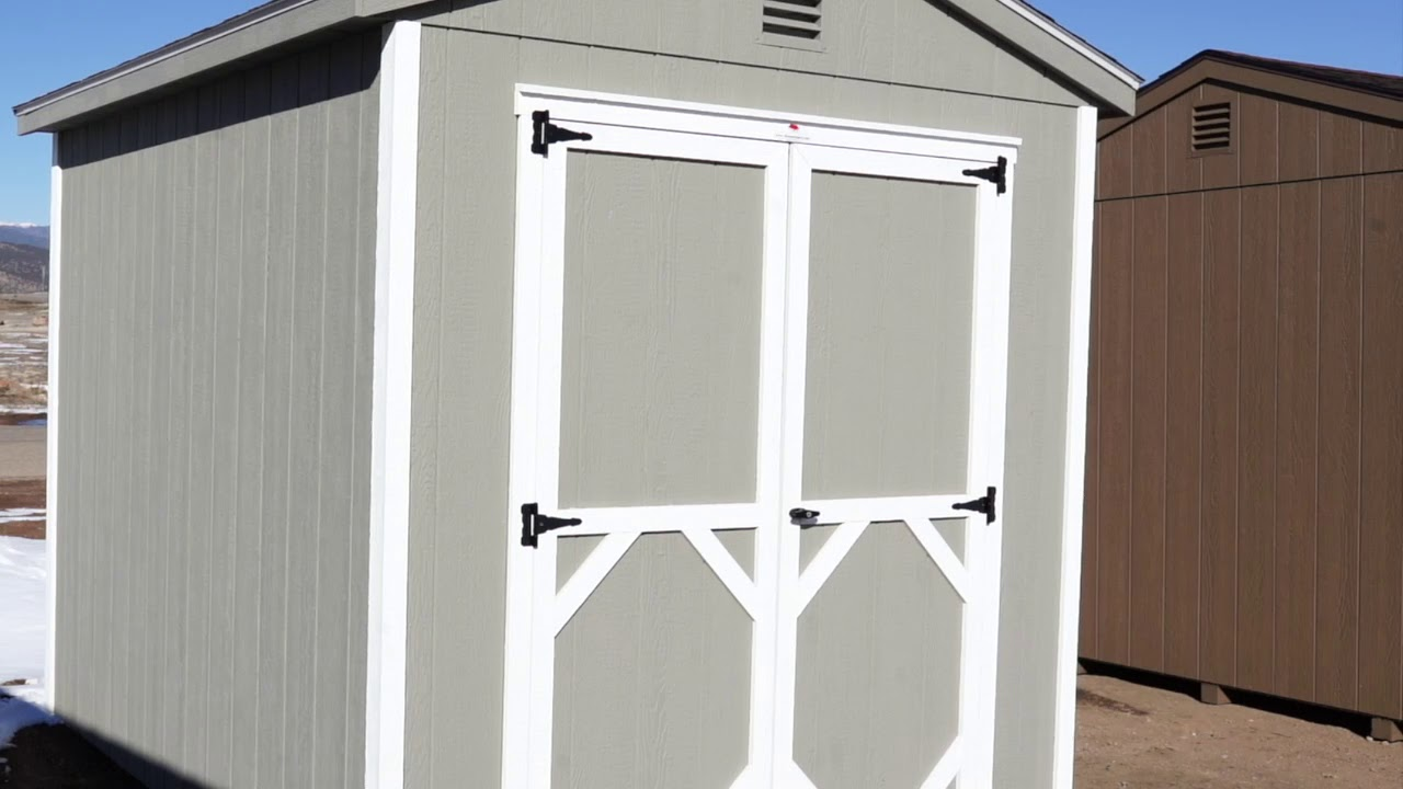 The Shed Yard - 8x10 A Frame Shed