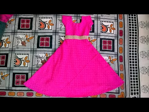 Full gown cutting and stitching easy method full video