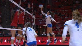 Recap: No. 17 UCLA women's volleyball takes 3-1 win over No. 23 Utah in back-and-forth battle