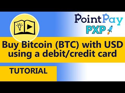 TUTORIAL - Buy Bitcoin (BTC) With USD Using A Debit/credit Card