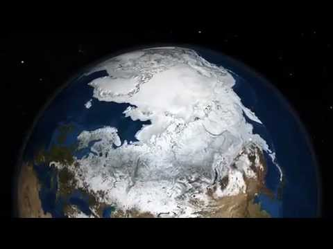 Ice at the North Pole vs. Ice at the South Pole