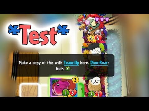 *Test* Hunt Zombie with Veloci-Radish + Imitater + Pair Pearadise - PvZ Heroes