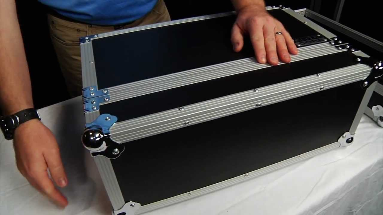Elite core 4 space 10 deep 19 wide rack mount road tour for Homemade rack case