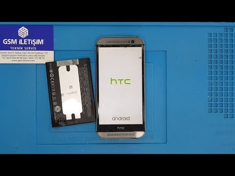 HTC One M8 Batarya Değişimi