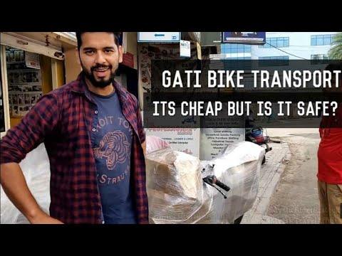 GATI Bike Transport | CHEAPER OPTION TO VRL| BUT Is It SAFE???