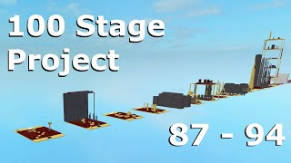 Roblox - 100 Stage Project - Stages 87 - 94