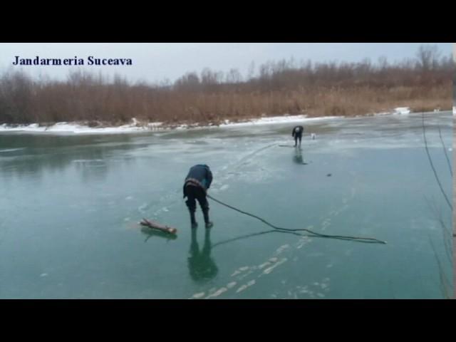 Jandarmii suceveni au prins doi braconieri pe râul Suceava 03.01.2017