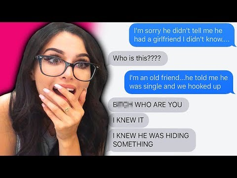 "Thumbnail: ""CHEATING BOYFRIEND"" WRONG NUMBER TEXT PRANK"