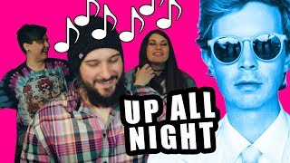 Reacting To Beck   Up All Night (Music Video React)