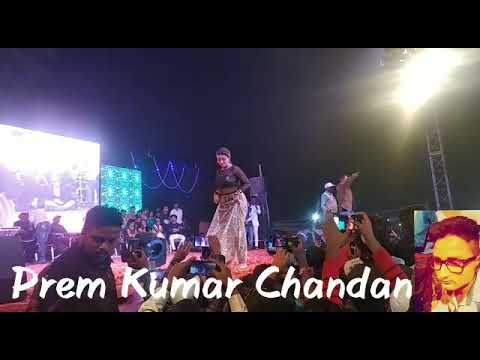अक्षरा सिंह {जयनगर महोत्सव}में मंच नृत्य। नवम्बर 2018
