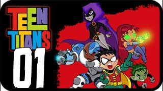 Teen Titans Walkthrough Part 1 (PS2, GCN, XBOX) Tutorial + Level 1 : Titan Tower