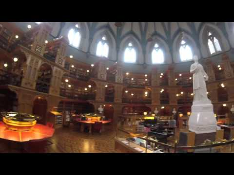 Canada Ottawa Parliament Buildings Guided Tour