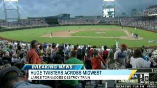 Fierce Tornadoes Caught on Tape in Midwest