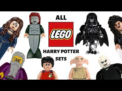 All HARRY Potter LEGO Sets COMPILATION 2001-2019