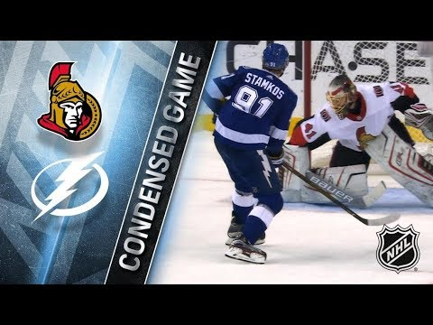 Ottawa Senators vs Tampa Bay Lightning – Dec. 21, 2017 | Game Highlights | NHL 2017/18. Обзор матча