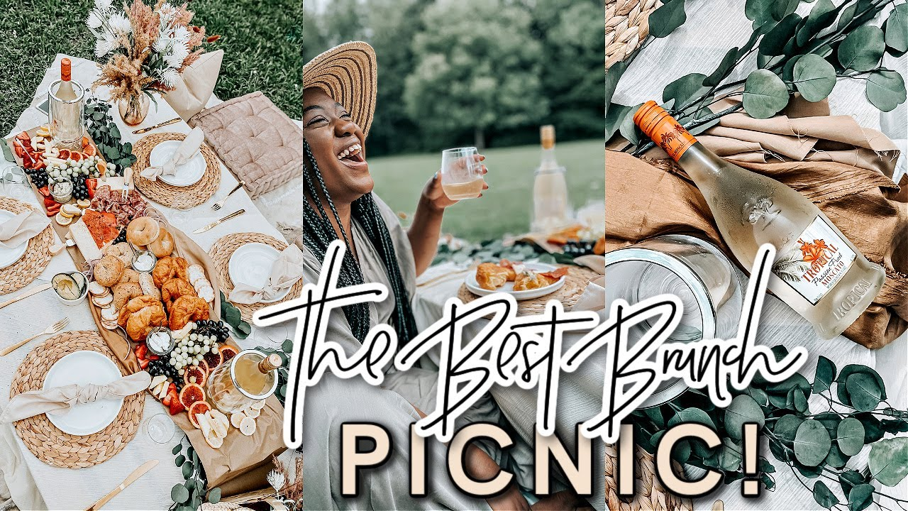 HOW TO THROW A LUXURY PICNIC! | Brunch Ideas | Grazing Platter Table | Picnic Decor