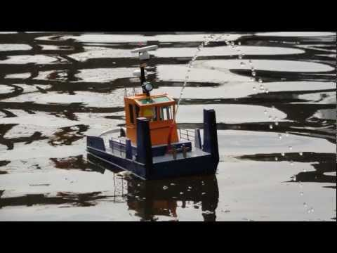 non scale springer tug boat building log and test - YouTube