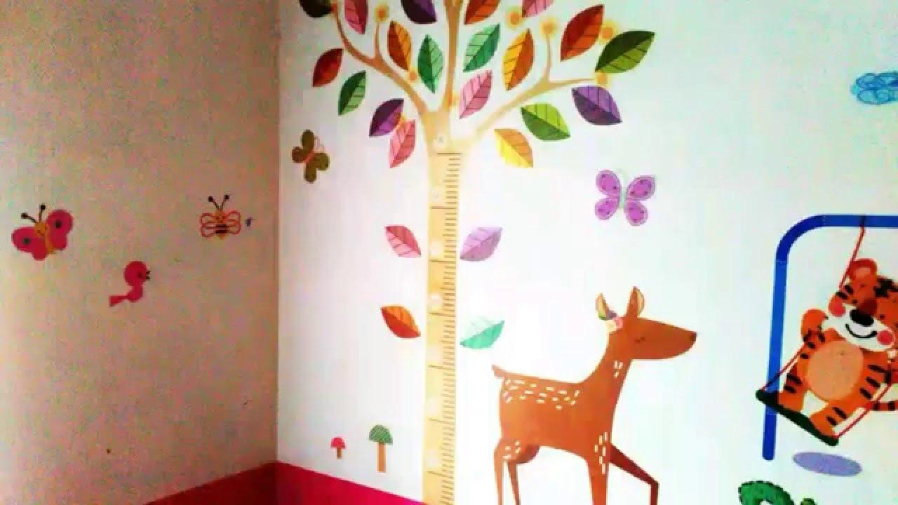 Stiker Dinding Untuk Kamar Anak Perempuan YouTube