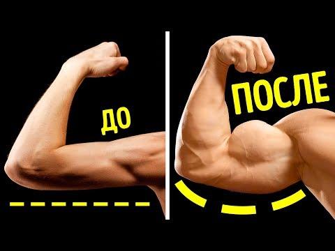 7 эффективных упражнений, чтобы накачать бицепсы дома