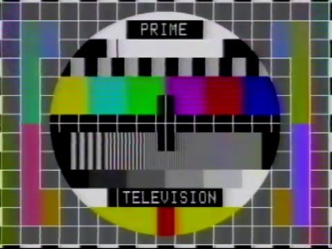 Prime TV Ident And Station Close With Test Pattern YouTube Unique Test Pattern