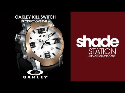 Oakley Kill Switch Watch Overview