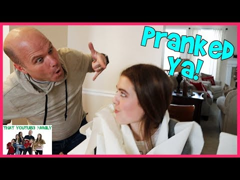 PRANK WEEK! Parents Sneaky Holiday DIY Funny Pranks / That YouTub3 Family I Family Channel