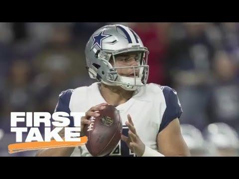 Dak Prescott or Carson Wentz: Who has the better 2017 NFL season? | First Take | ESPN
