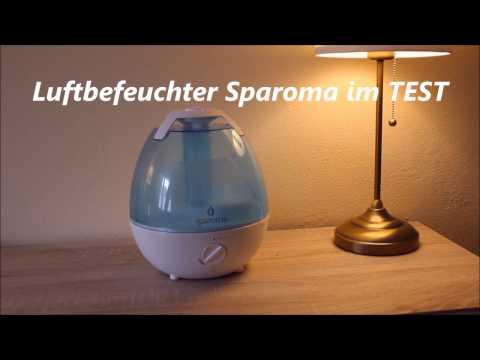Luftbefeuchter Sparoma - Test