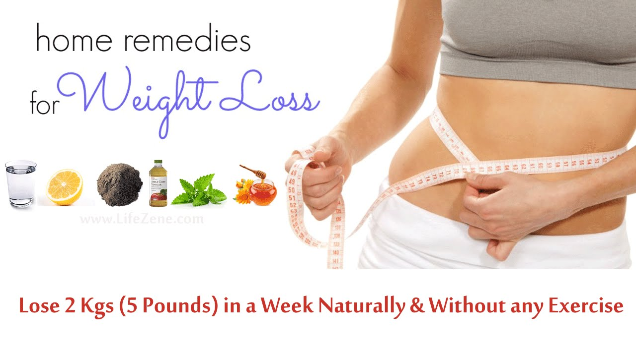 lose weight in 1 week naturally