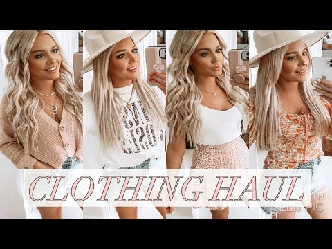 SPRING CLOTHING HAUL - American Eagle, Target, Red Dress Boutique