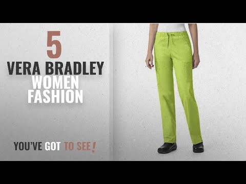 e25806b8bc7 Vera Bradley Women Fashion [2018 Best Sellers]: Vera Bradley Signature  Collection Women's Florence - YouTube