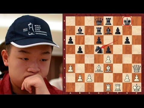 "An absolutely insane immortal chess game by Wei Yi ! - ""Game of the Decade"" is Susan Polgar's tweet!"