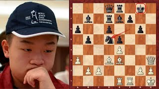 "An absolutely insane immortal chess game by Wei Yi ! - ""Game of the Decade"" is Susan Polgar"