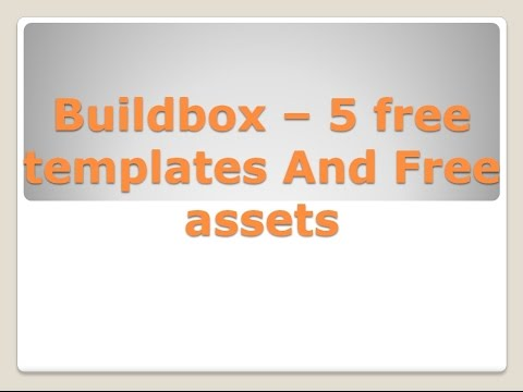 buildbox free assets