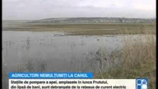 Peste 1500 de hectare de terenuri agricole, inundate la Cahul