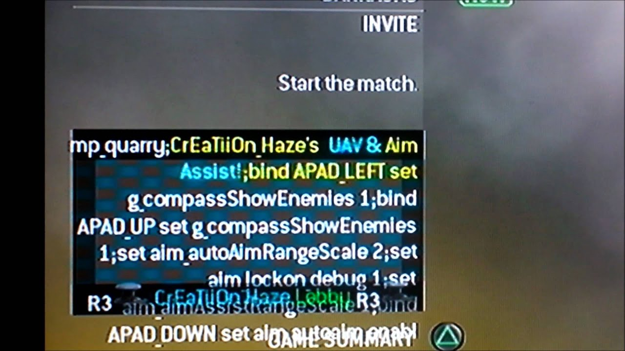 mw2 uav hack ps3