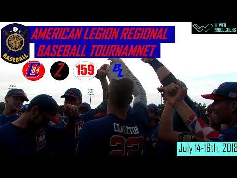 Cambridge Post 84: American Legion Regional Baseball Tournament Highlight 2018