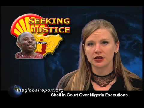Shell in Court Over Nigeria Executions