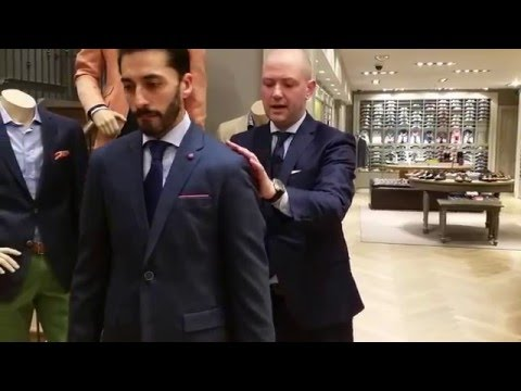 How To Measure For A Blazer And A Sports Jacket