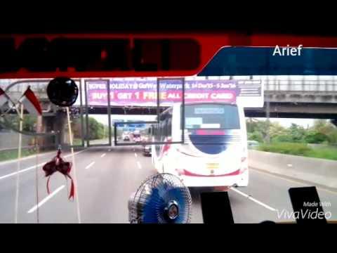 Klakson Terompet kapal menggema Bus KUMAT yg punya