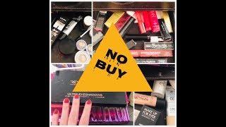 starting my makeup no buy & clothing low buy