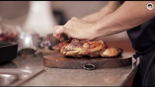 Spiced Flat Roast Chicken by The Fat Kid Inside - Christmas Recipes