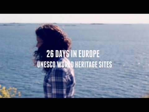 26 Days in Europe: UNESCO World Heritage Sites