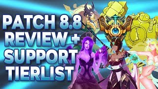 TOP 5 SUPPORTS on PATCH 8.8 REVIEW and TIERLIST   Best Challenger Tips to Climb and Carry Season 8