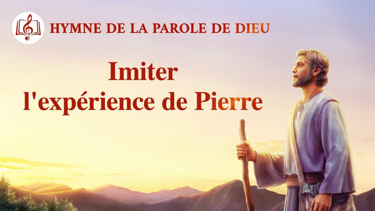 Musique chrétienne en français « Imiter l'expérience de Pierre »